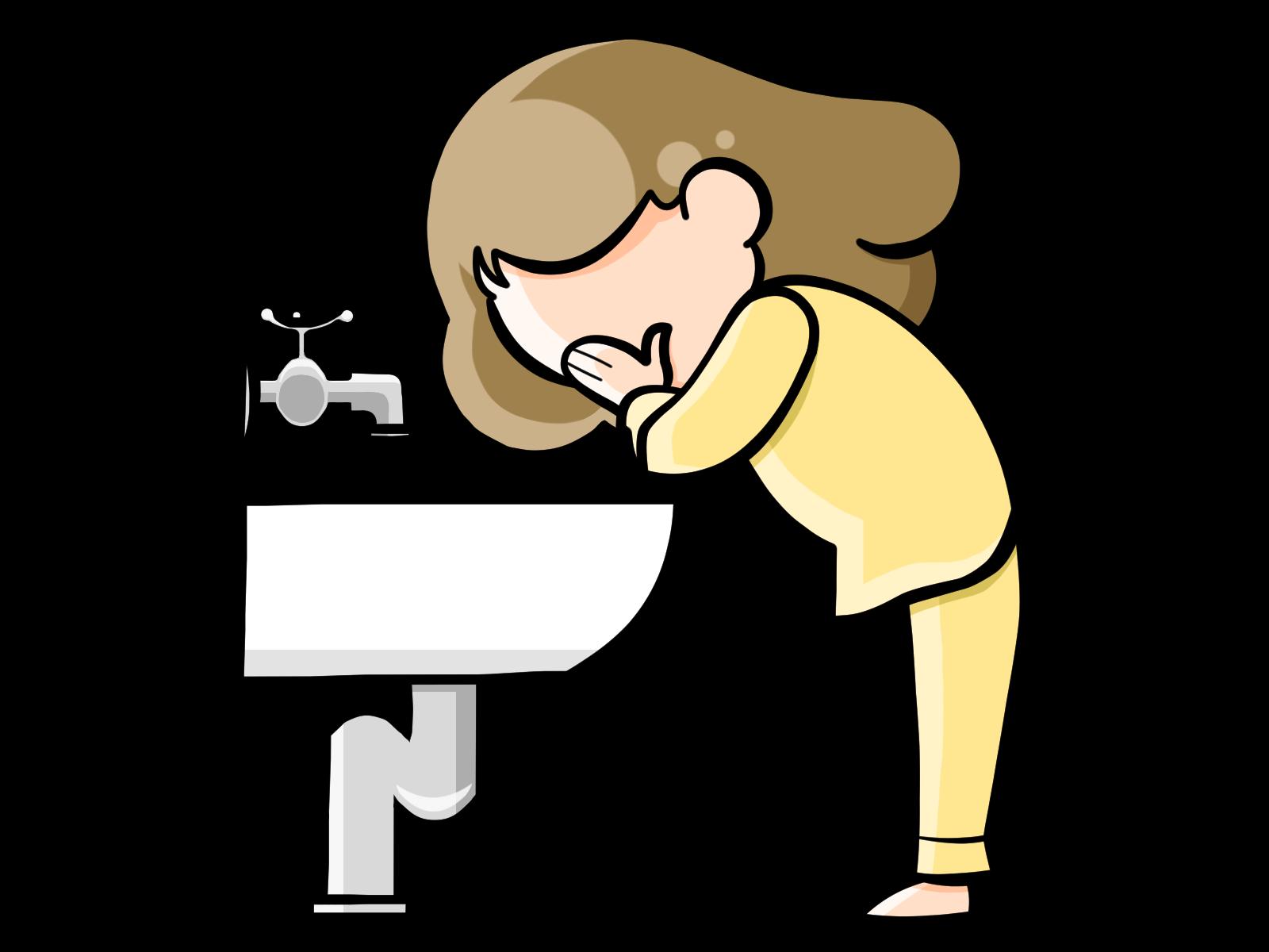 洗面台の水トラブル
