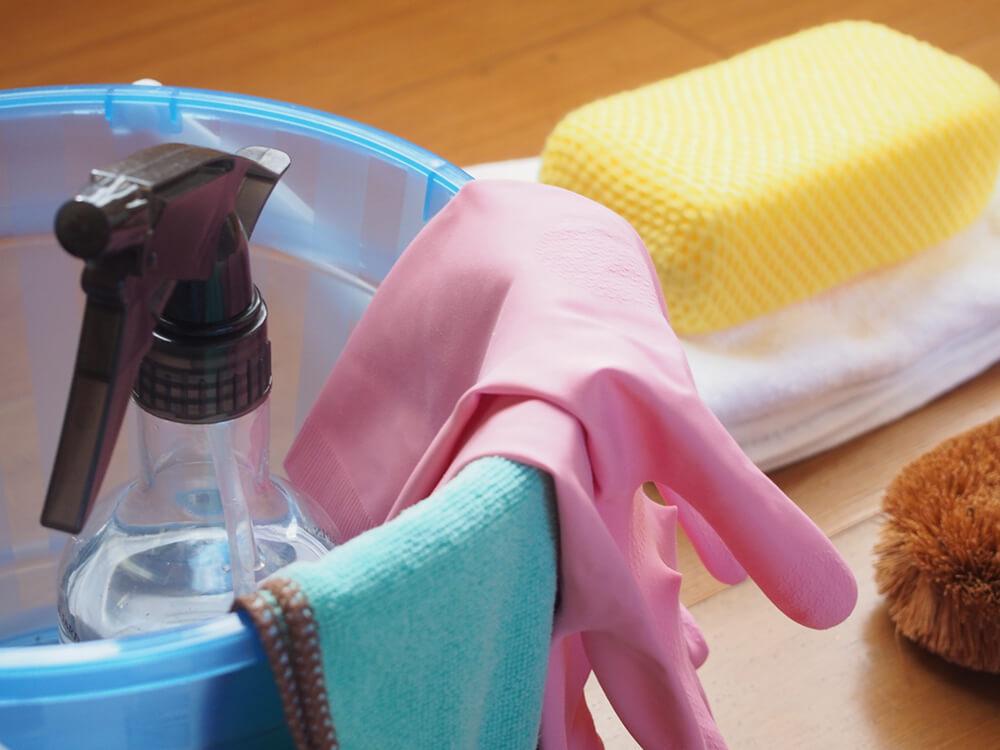 浴室の掃除キット