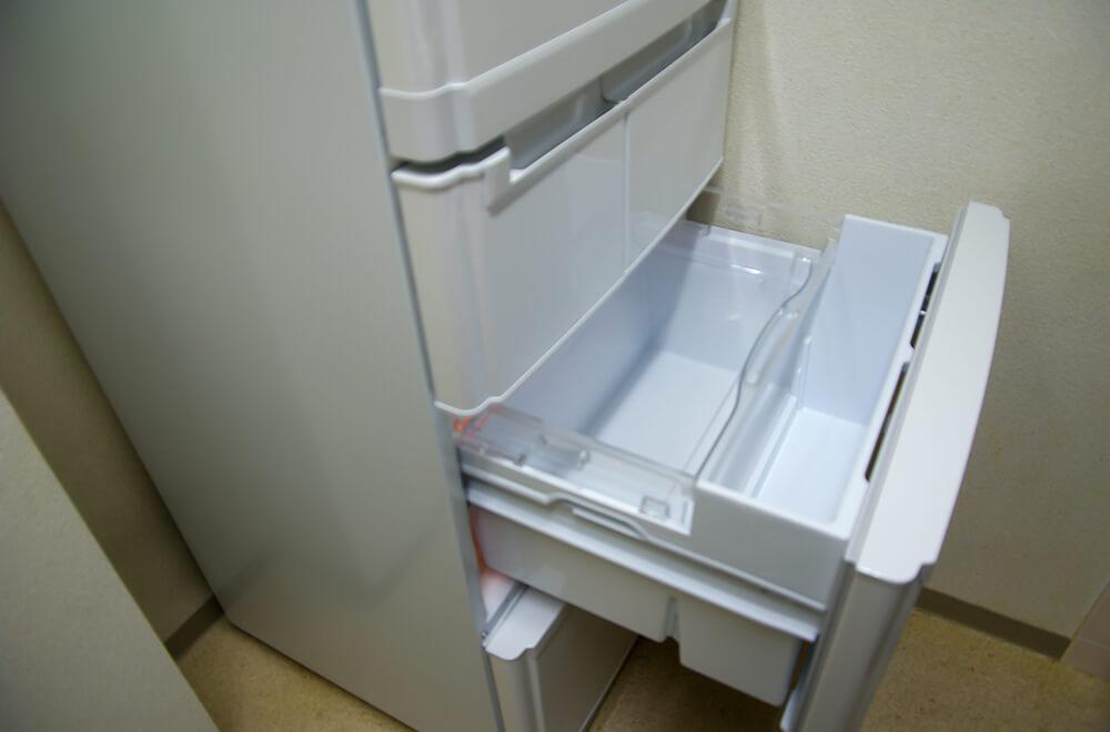 冷蔵庫の掃除